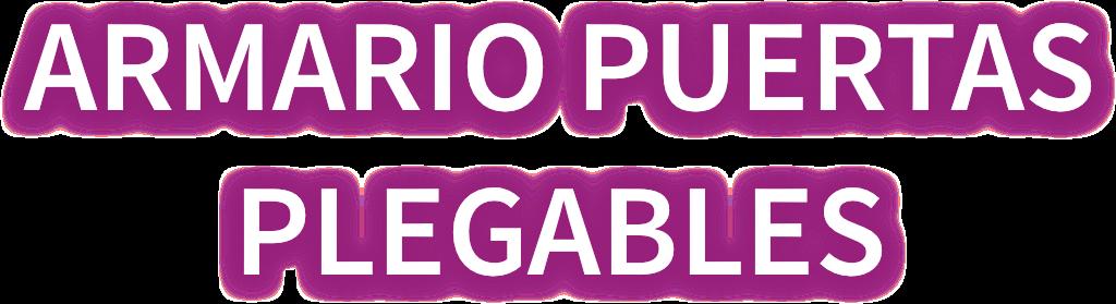 Armario de seguridad puertas plegables logo