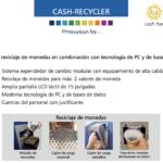 Cash Recycler variedades de reciclaje de monedas