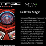 Catálogo ruletas Magic Rulette