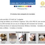 Características Máquina Cash Recycler Compact