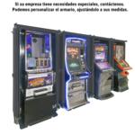 Máquinas recreativas con armarios de seguridad
