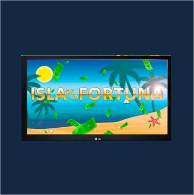 Logo destacado máquinas recreativas Isla de la Fortuna