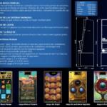Ficha Cleopatra Medida y juegos de la máquina recreativa