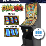 Máquina recreativa guaykiki y rodillos
