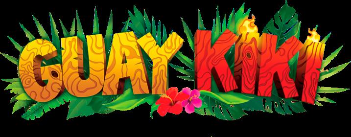 Logo máquina recreativa guaykiki
