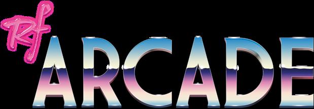 Logo máquina recreativa RF Arcade