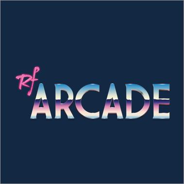 Logo destacad máquina recreativa RF Arcade de Covimatic