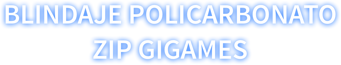 Blindaje Policarbonato Zip Games
